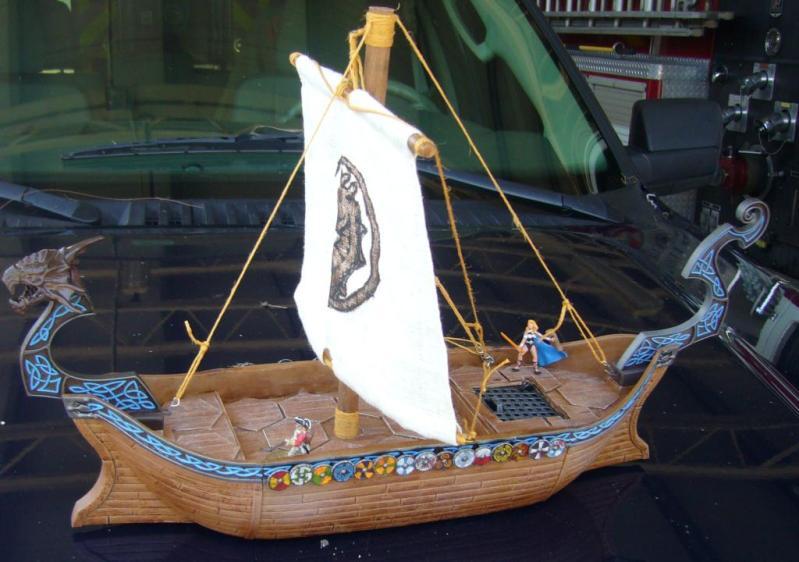 Mega Bloks navire viking Vikingship-2