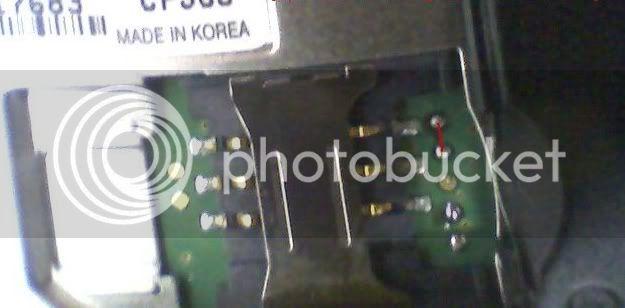 LG CF360 unlocking done.. Jumper