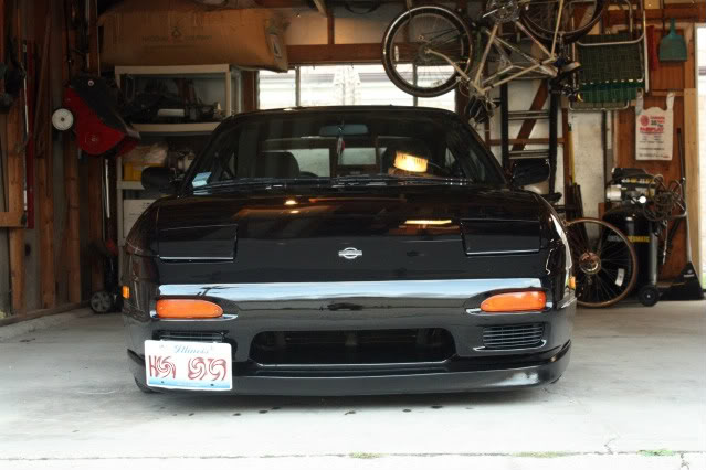 The slow build  of my s13 IMG_8650