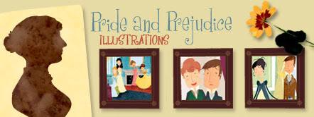 Un site d'illustrations de Pride & Prejudice Banner_sito_en