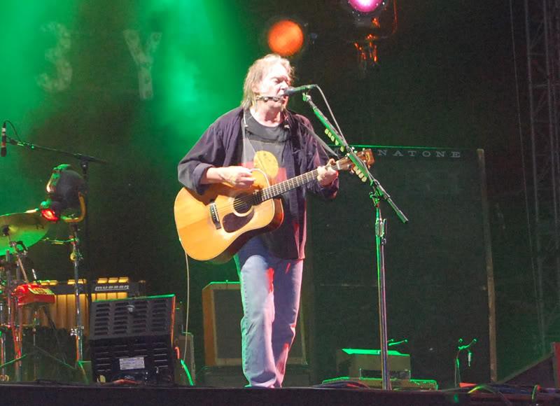 Neil Young - 27/06/09 Hyde Park Neil12