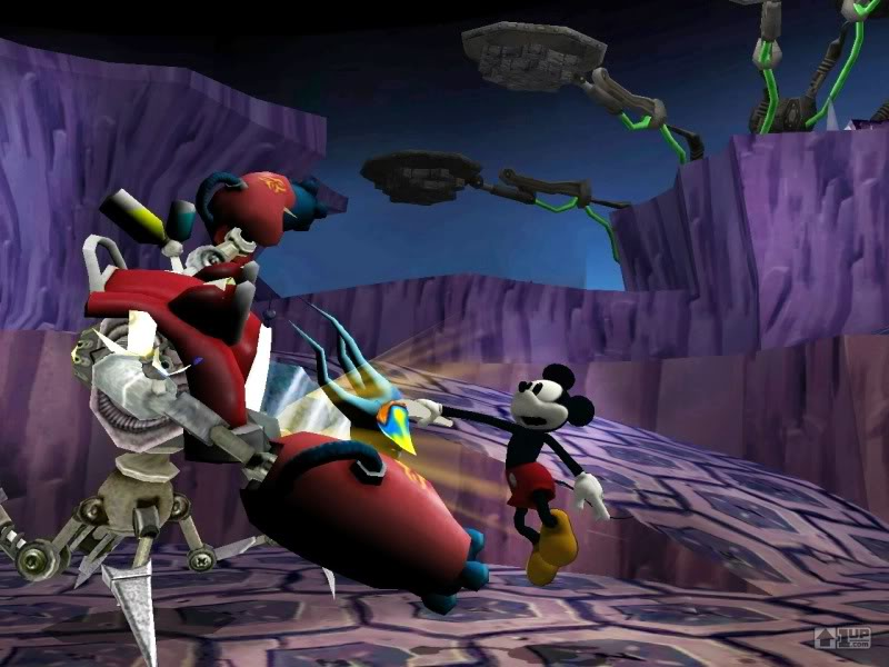 Epic Mickey (Warren Spector Game - Announced for Wii) 725