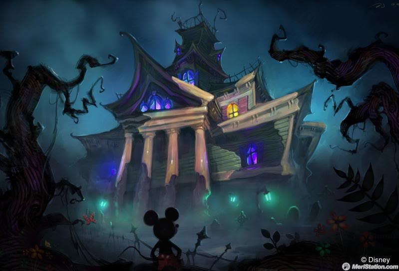 Epic Mickey (Warren Spector Game - Announced for Wii) Manor3