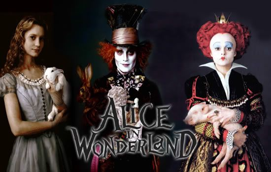 Photos from tim burton's alice in wonderland, frst look at the movie Alicemagtop