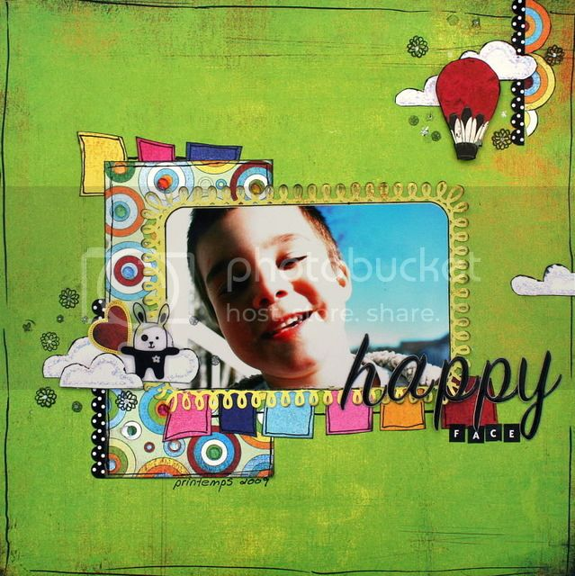 8 mai: ***Happy face*** Happyface