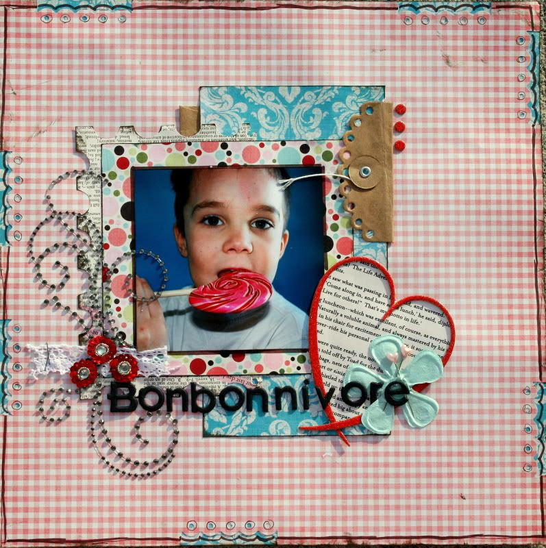 24 fév.: Bonbonnivore (sketch du blog) Bonbonnivore