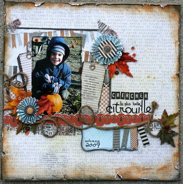 30 oct: Mes pages d'octobre Chercherlaplusbelle