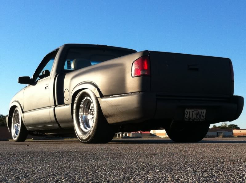 My old 94 S10 and my new 86 Mustang Coupe 0c8fcd05