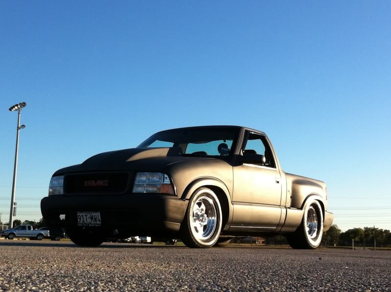 My old 94 S10 and my new 86 Mustang Coupe 7ad4d737
