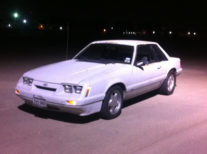 My old 94 S10 and my new 86 Mustang Coupe IMG_1801