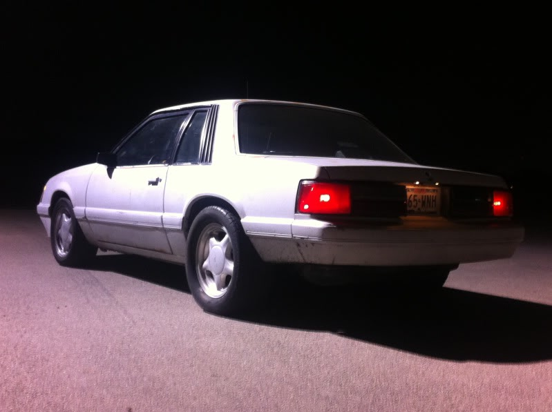 My old 94 S10 and my new 86 Mustang Coupe IMG_1813