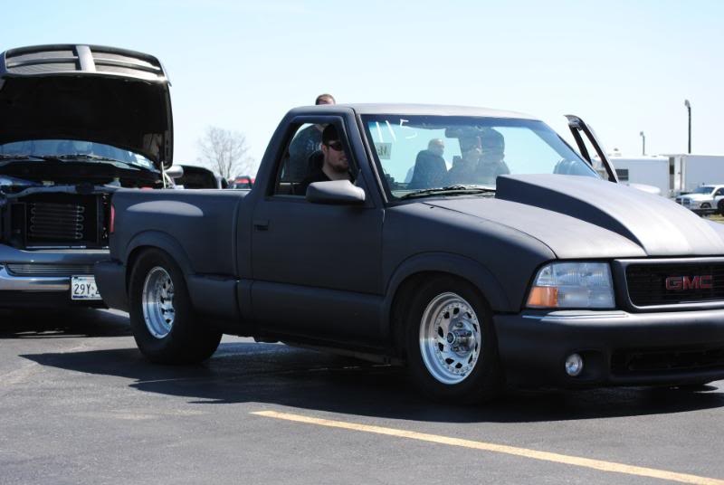 My old 94 S10 and my new 86 Mustang Coupe S10Sealy