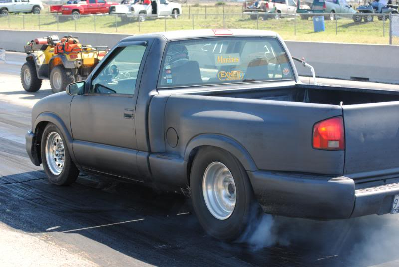 My old 94 S10 and my new 86 Mustang Coupe S10Sealy7