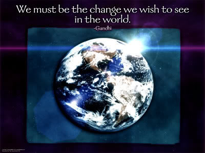 The Age of Aquarius ~ What does it mean? Ghandi