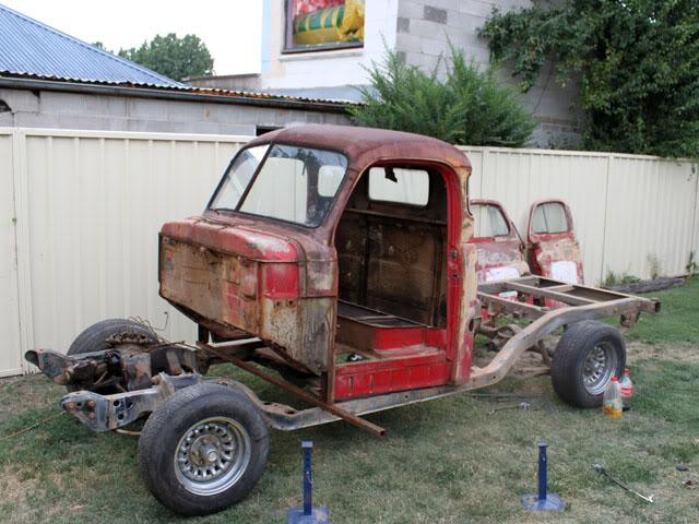 52 Dodge stepside pickup. 003
