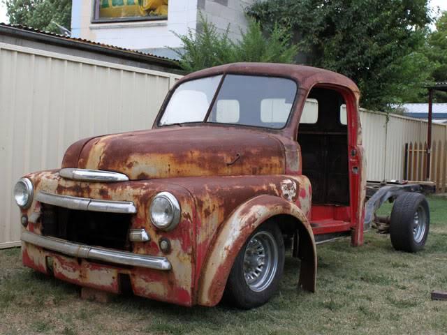 52 Dodge stepside pickup. 009