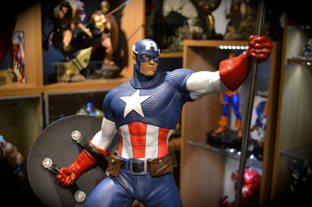 Premium Collectibles : Captain America - Comics Version DSC_0040-6