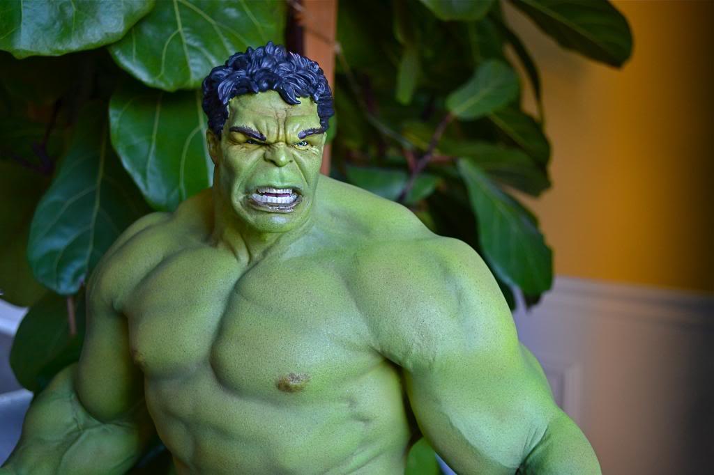 [Sideshow] Hulk Avengers Maquette DSC_0480