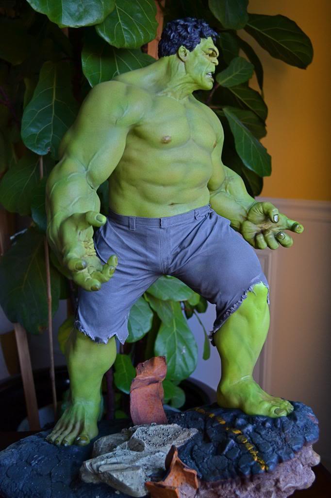 [Sideshow] Hulk Avengers Maquette DSC_0486