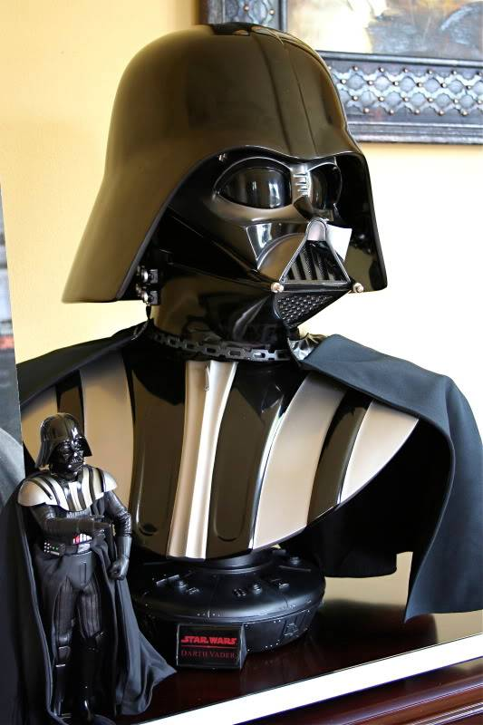 Darth Vader life size Bust 1/1 - Page 6 Darth21