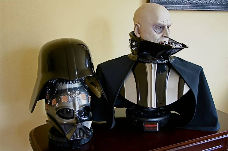 Darth Vader life size Bust 1/1 - Page 6 Darth30