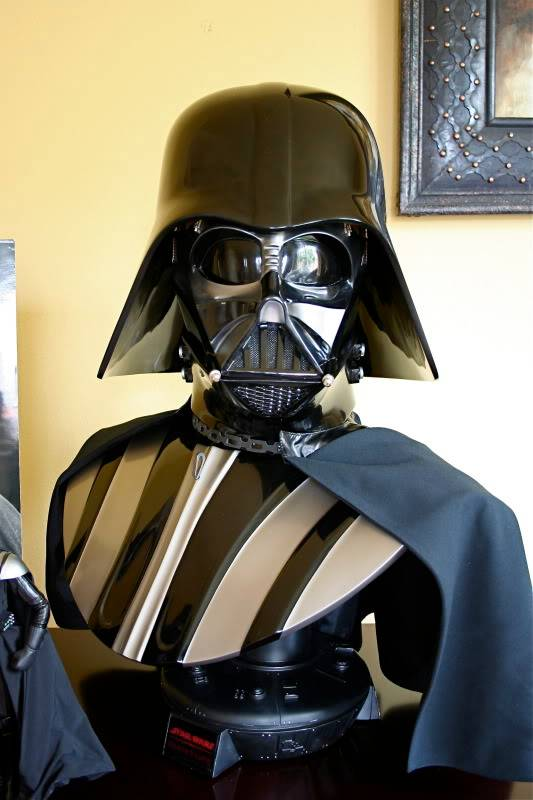 Darth Vader life size Bust 1/1 - Page 6 Darth31