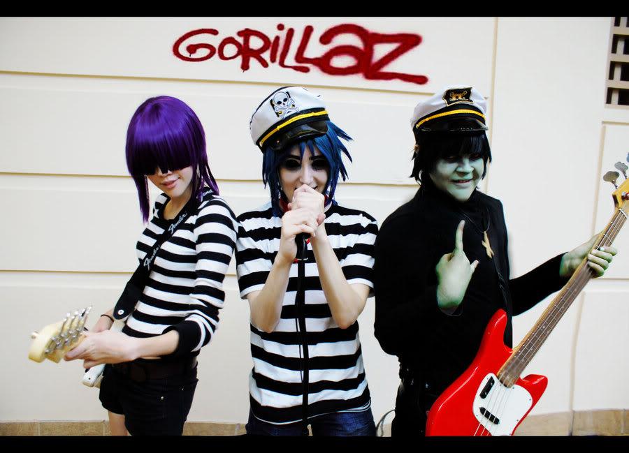 *Cosplay*de GorillaZ Gorillaz__group_by_supatunaxxxcosplay-d329n2g
