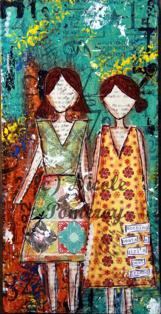 Elocin Designs Canvases :) BestFriend