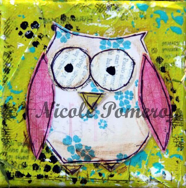 Elocin Designs Canvases :) Owl12copy