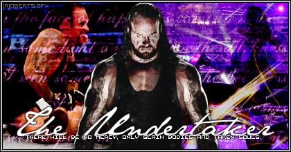 Galería de firmas de la wwe Undertaker