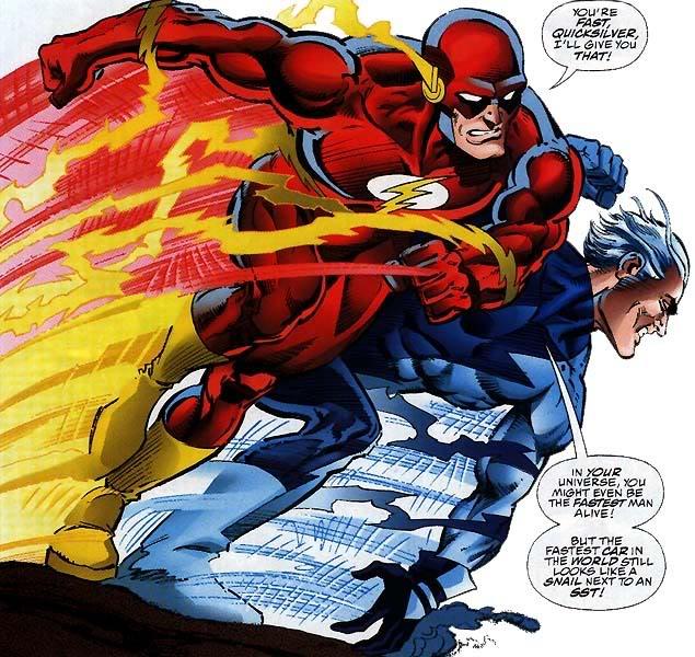 Nouveau Jeu - DC vs Marvel : AMALGAM COMICS ! Marvel-dc-race