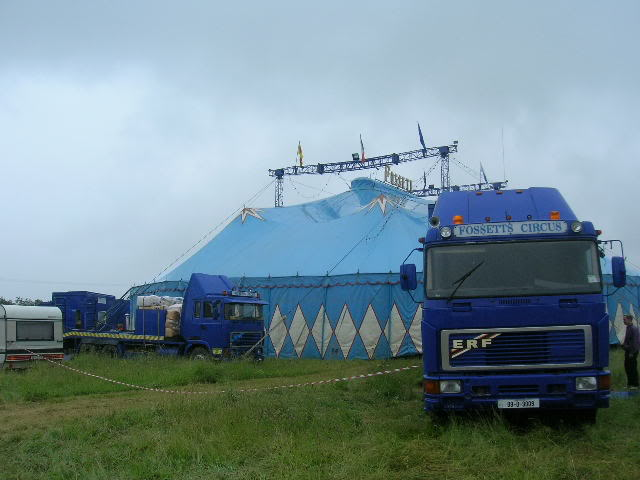 fossetts circus 2006 transport FOSSETTS2006001