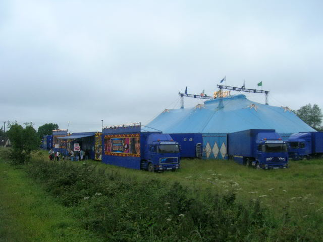 fossetts circus 2006 transport FOSSETTS2006002