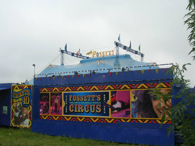 fossetts circus 2006 transport FOSSETTS2006004