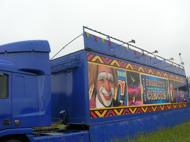 fossetts circus 2006 transport FOSSETTS2006005