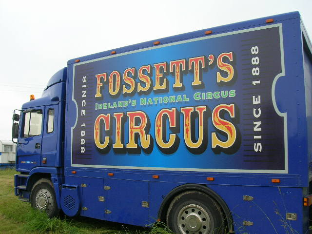 fossetts circus 2006 transport FOSSETTS2006006
