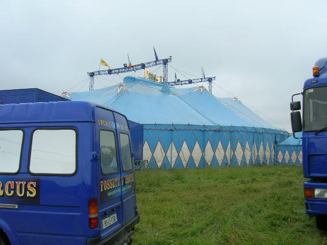 fossetts circus 2006 transport FOSSETTS2006007
