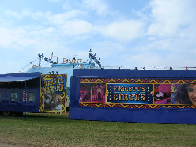 fossetts circus 2006 transport FOSSETTS2006014