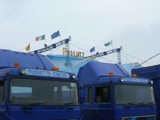 fossetts circus 2006 transport FOSSETTS2006017