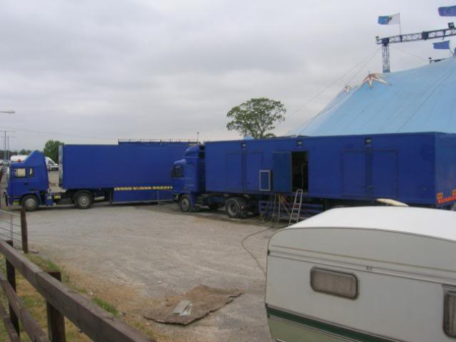 fossetts circus 2006 transport FOSSETTS2006022