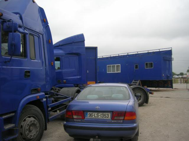 fossetts circus 2006 transport FOSSETTS2006023