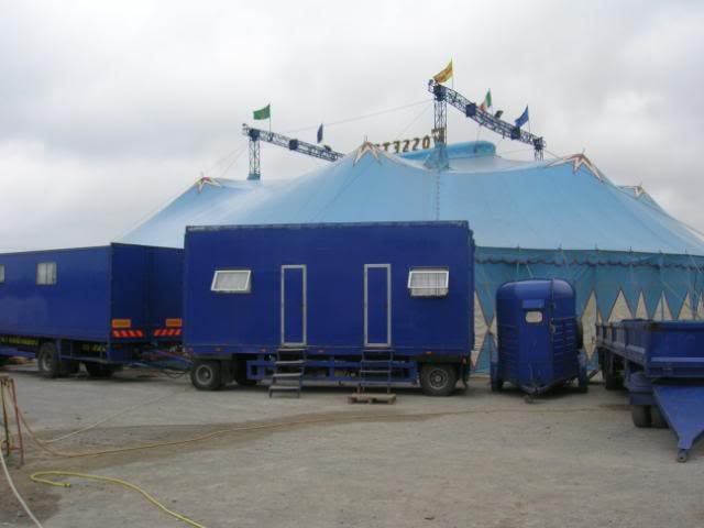 fossetts circus 2006 transport FOSSETTS2006024