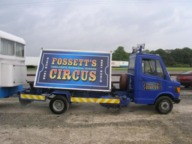 fossetts circus 2006 transport FOSSETTS2006027