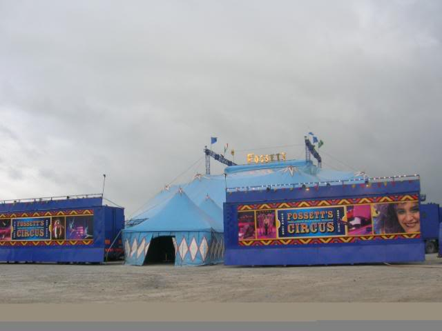 fossetts circus 2006 transport FOSSETTS2006028