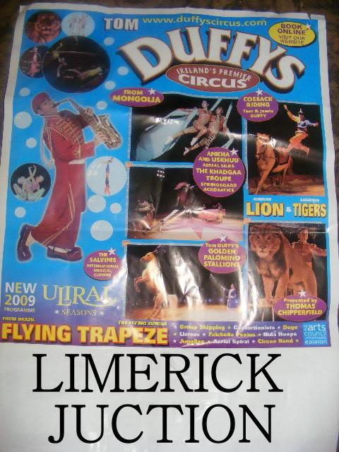 tom duffys circus 05/10/09 POSTER-5