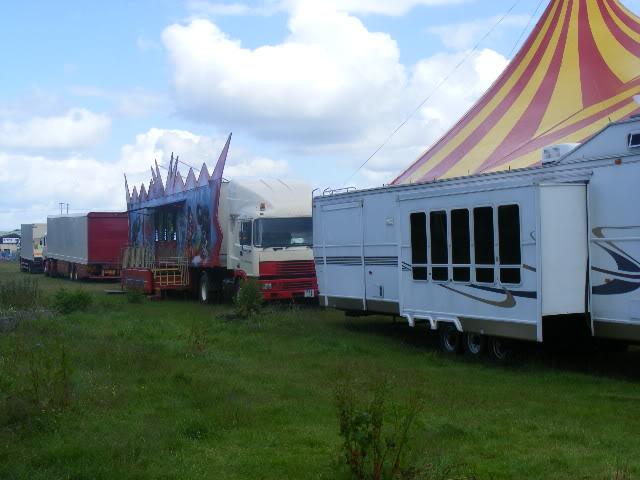 circus newyork transport and bigtop Portlaoise09015