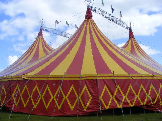 circus newyork transport and bigtop Portlaoise09019