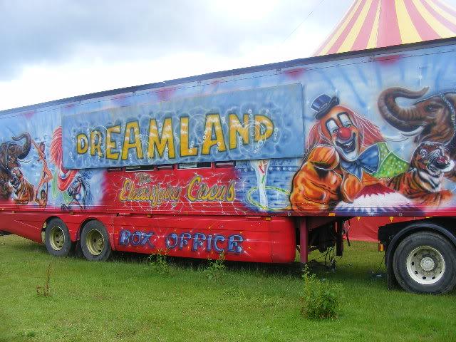 circus newyork transport and bigtop Portlaoise09107