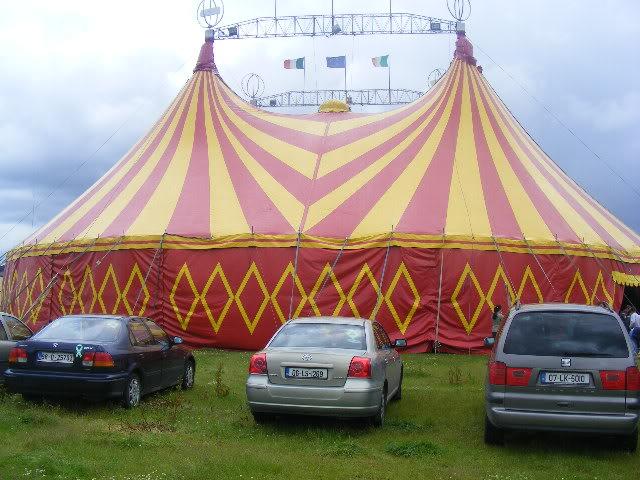 circus newyork transport and bigtop Portlaoise09108