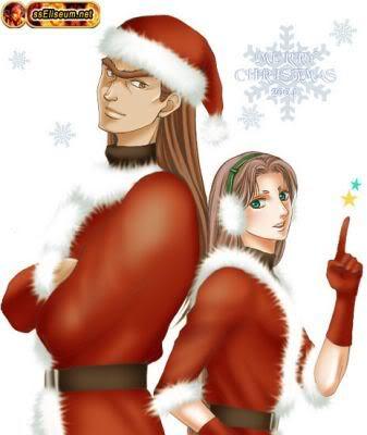 Imagenes de navidad con los caballeros Christmas